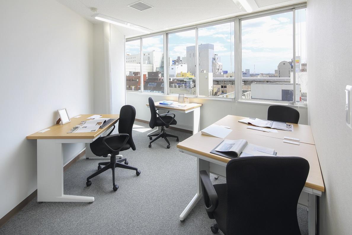 オープンオフィス本厚木-個室(4任用)