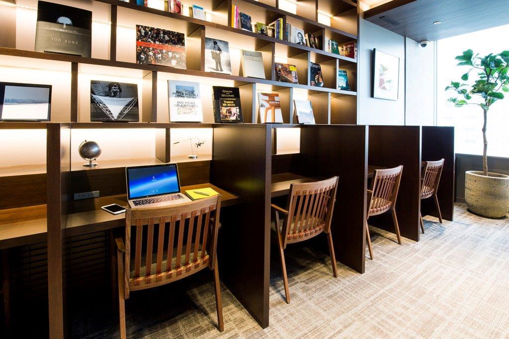 レンタルオフィス「ビジネスエアポート品川」の執務スペース