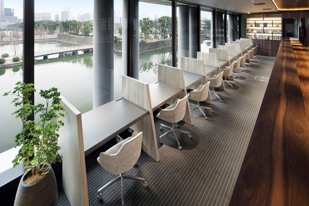 ビジネスエアポート東京-執務スペース