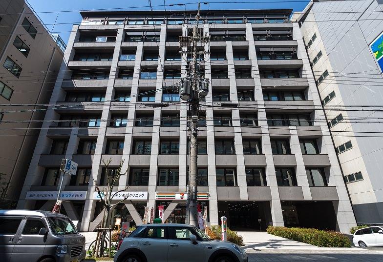 レンタルオフィス「オープンオフィス大阪平野町」の外観