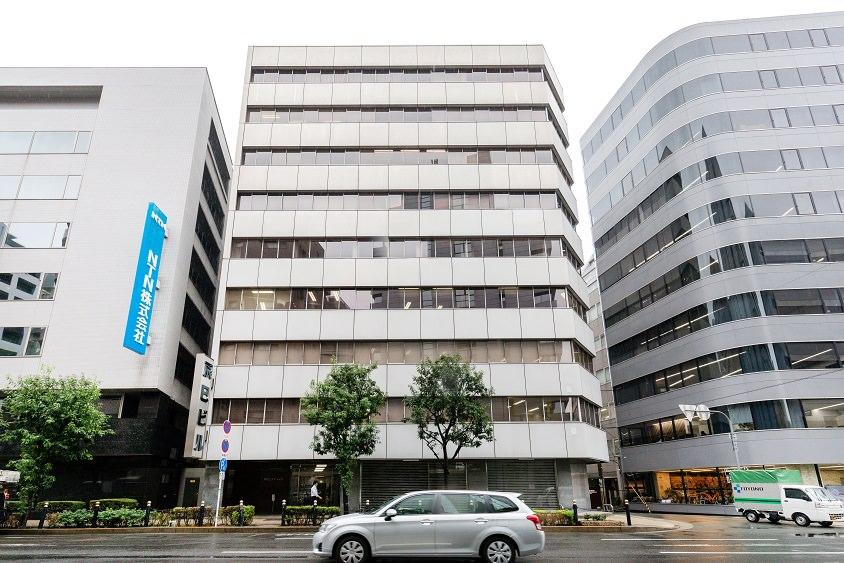 レンタルオフィス「オープンオフィス大阪肥後橋」の外観
