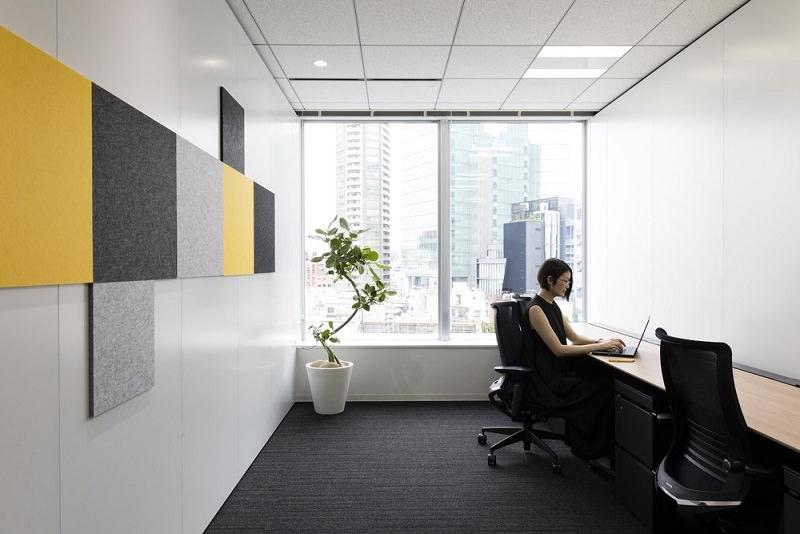 レンタルオフィス「クロスオフィス六本木」の個室