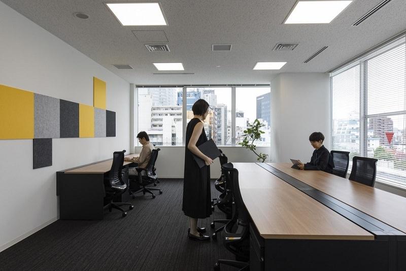 レンタルオフィス「クロスオフィス日比谷」の個室