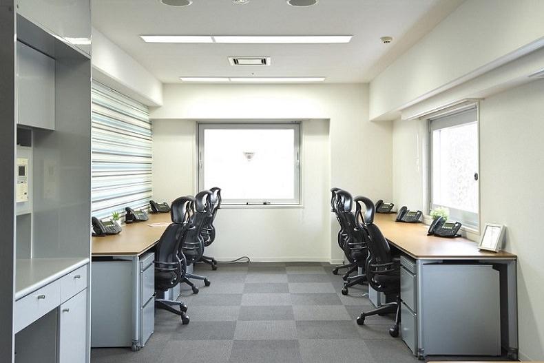 レンタルオフィス「コンパスオフィス MG目黒駅前」の個室