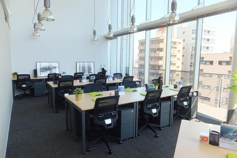 レンタルオフィス「コンパスオフィス 恵比寿グリーングラス」の個室