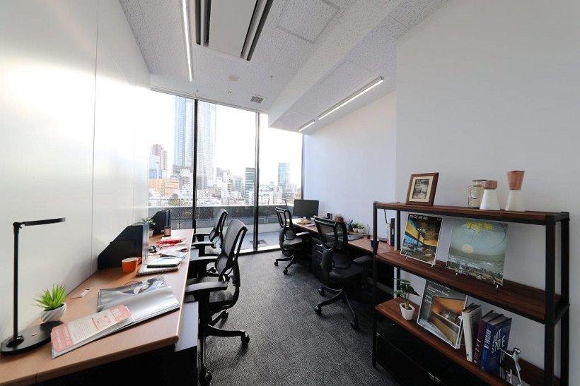 レンタルオフィス「ビジネスエアポート六本木」の個室