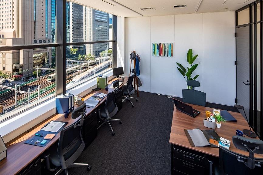 レンタルオフィス「ビジネスエアポート新橋」