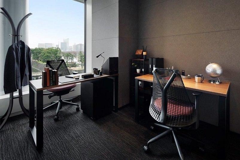 レンタルオフィス「ビジネスエアポート東京」の個室