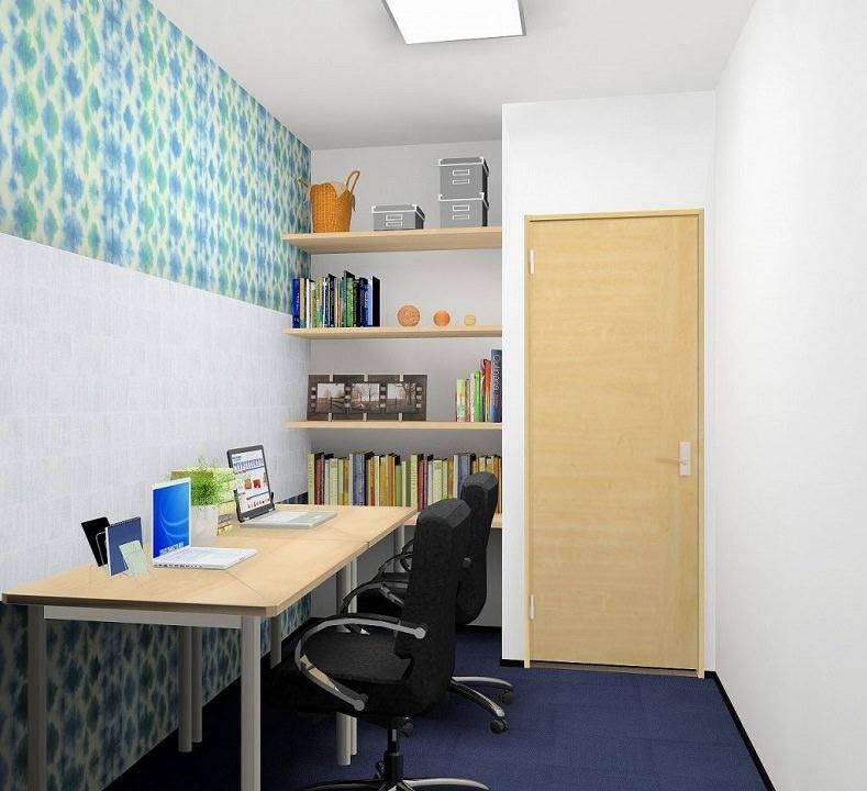 レンタルオフィス「ビズサークル水道橋オフィス」の個室