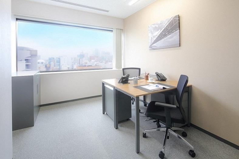 レンタルオフィス「リージャス名古屋栄ガス」の個室
