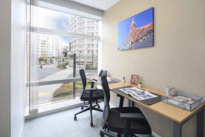 レンタルオフィス「リージャス神田須田町ビル」の個室