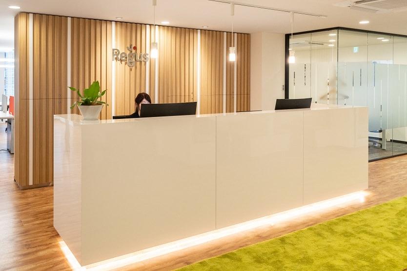 レンタルオフィス「リージャス 小倉駅前ビジネスセンター」の受付