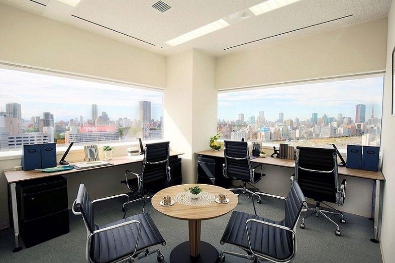 レンタルオフィス「EXPERT OFFICE 品川」の個室
