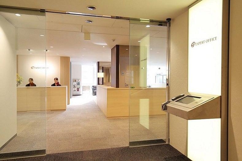 レンタルオフィス「EXPERT OFFICE 新横浜」の受付
