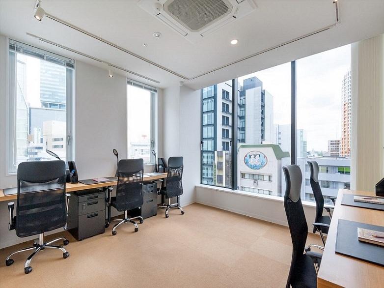 レンタルオフィス「EXPERT OFFICE 渋谷」の個室