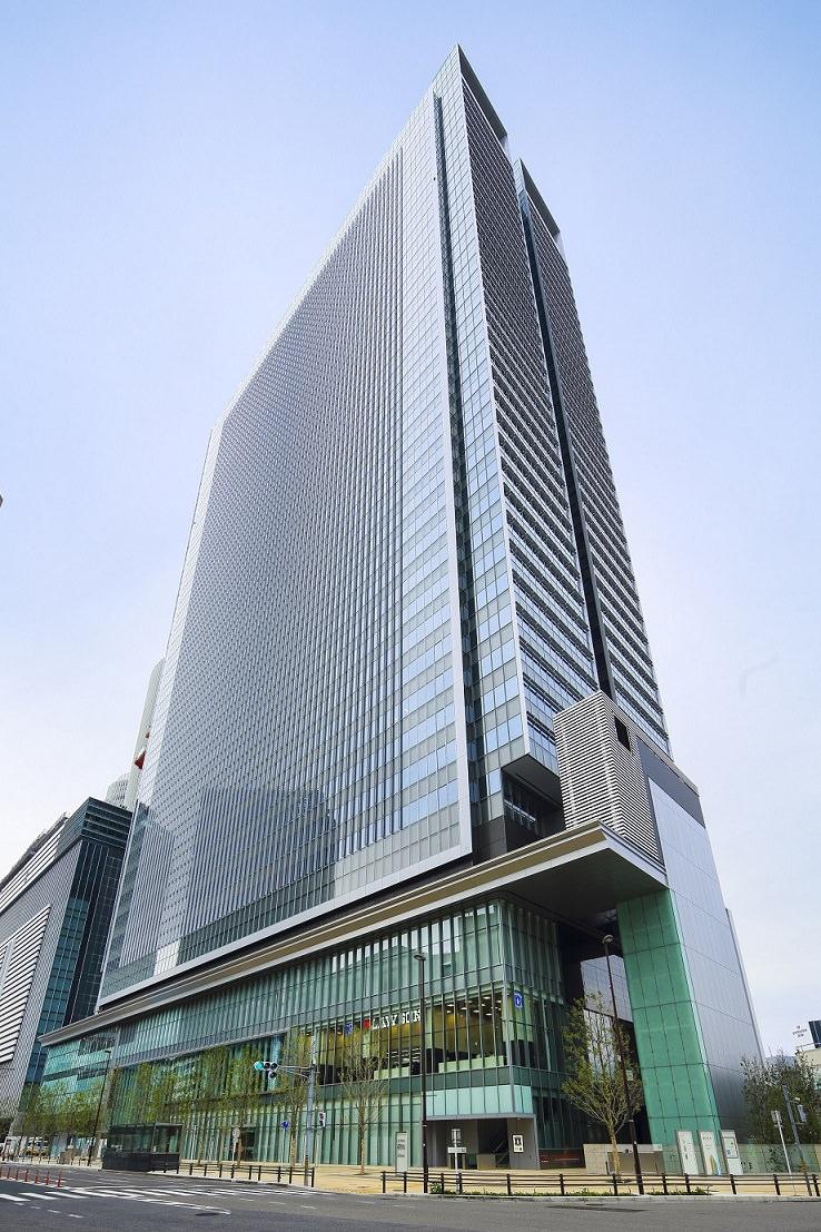 レンタルオフィス「Spaces JPタワー名古屋」が入居するビル