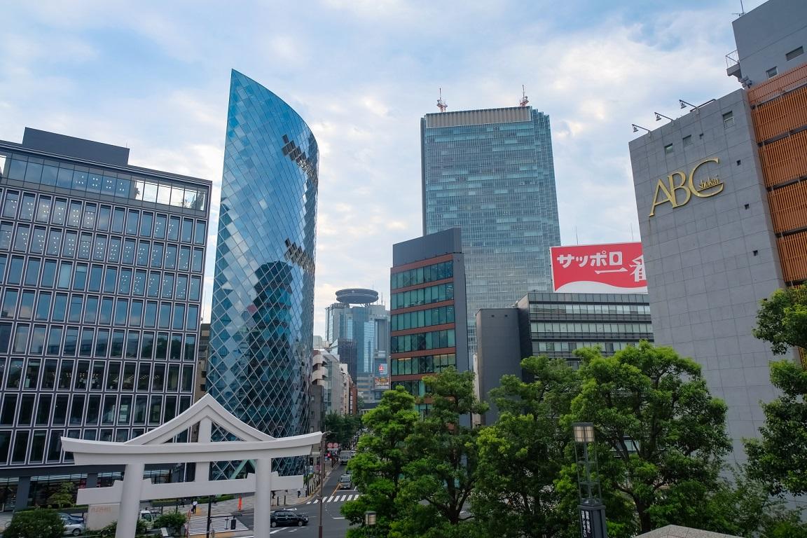 赤坂のオフィス街