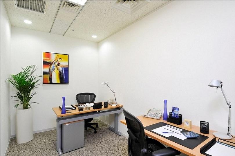 レンタルオフィス「リージャス日比谷帝国ホテルタワー」の個室