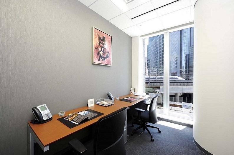 レンタルオフィス「リージャス新橋東急ビル」の個室