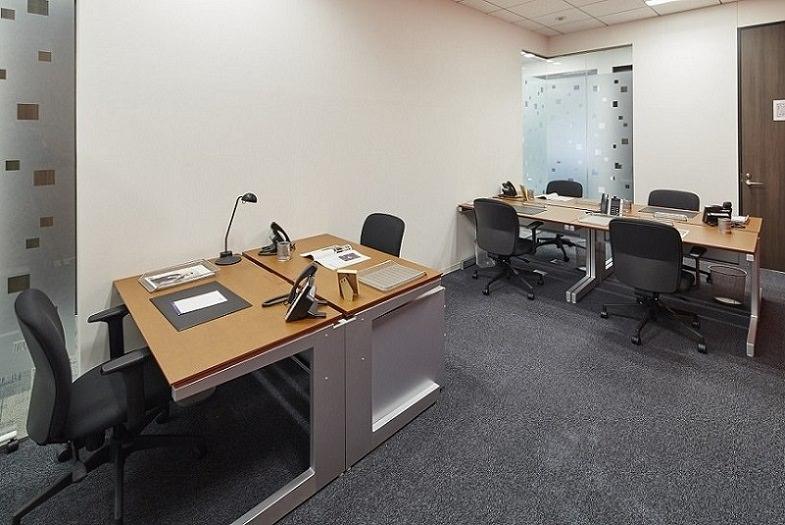 レンタルオフィス「リージャス赤坂Kタワー」の個室