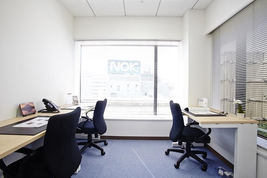 レンタルオフィス「リージャス芝大門」の個室(3人部屋)