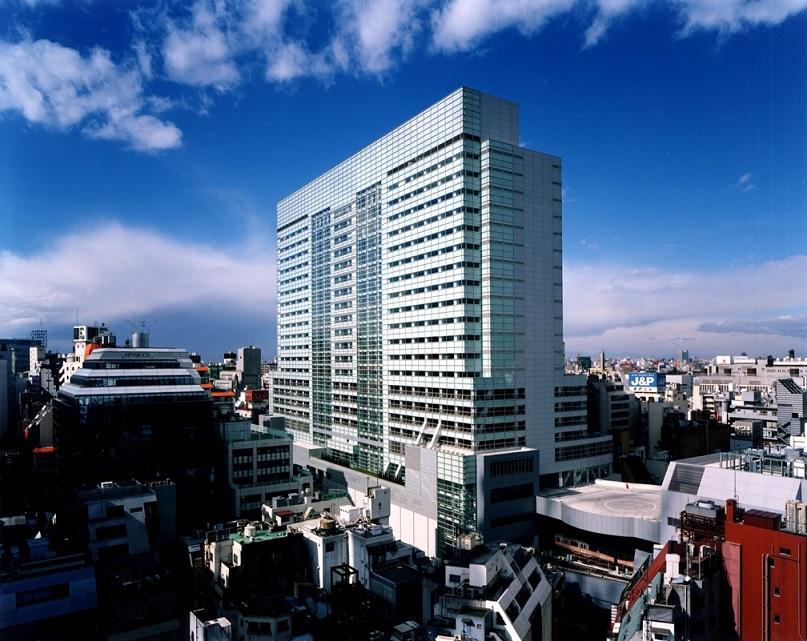 レンタルオフィス「リージャス渋谷マークシティ」の外観