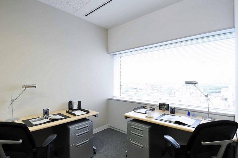 レンタルオフィス「リージャス渋谷マークシティ」の個室