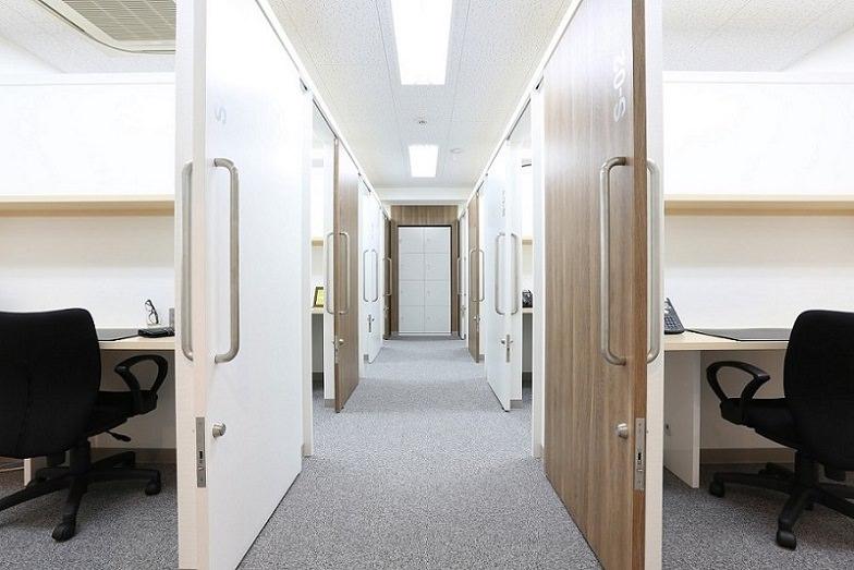 レンタルオフィス「リージャス広尾」の個室