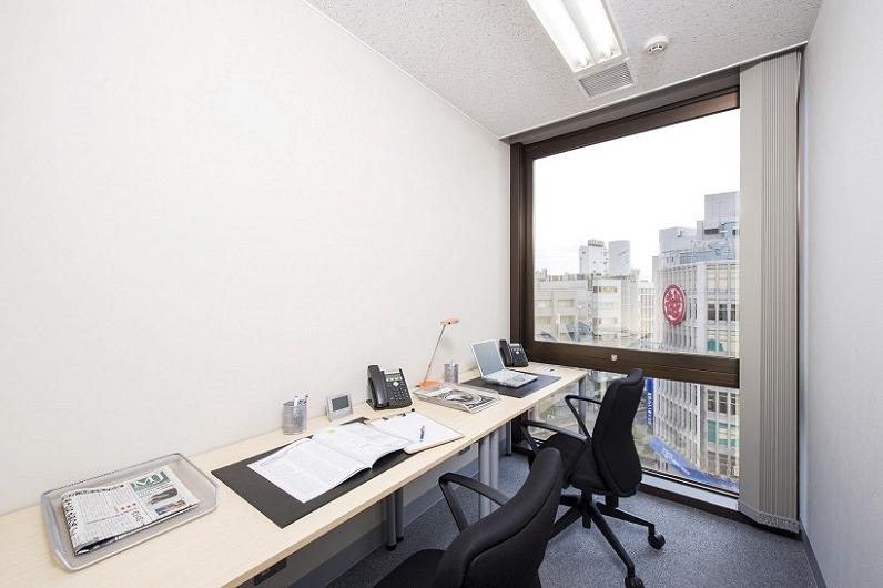 レンタルオフィス「リージャス千葉大栄ビル」の個室(2人用)