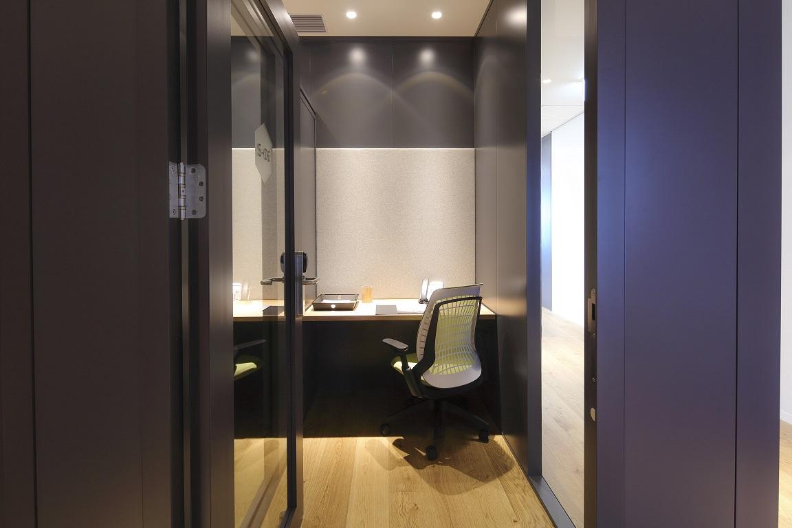 レンタルオフィス「Spaces JPタワー名古屋」の個室