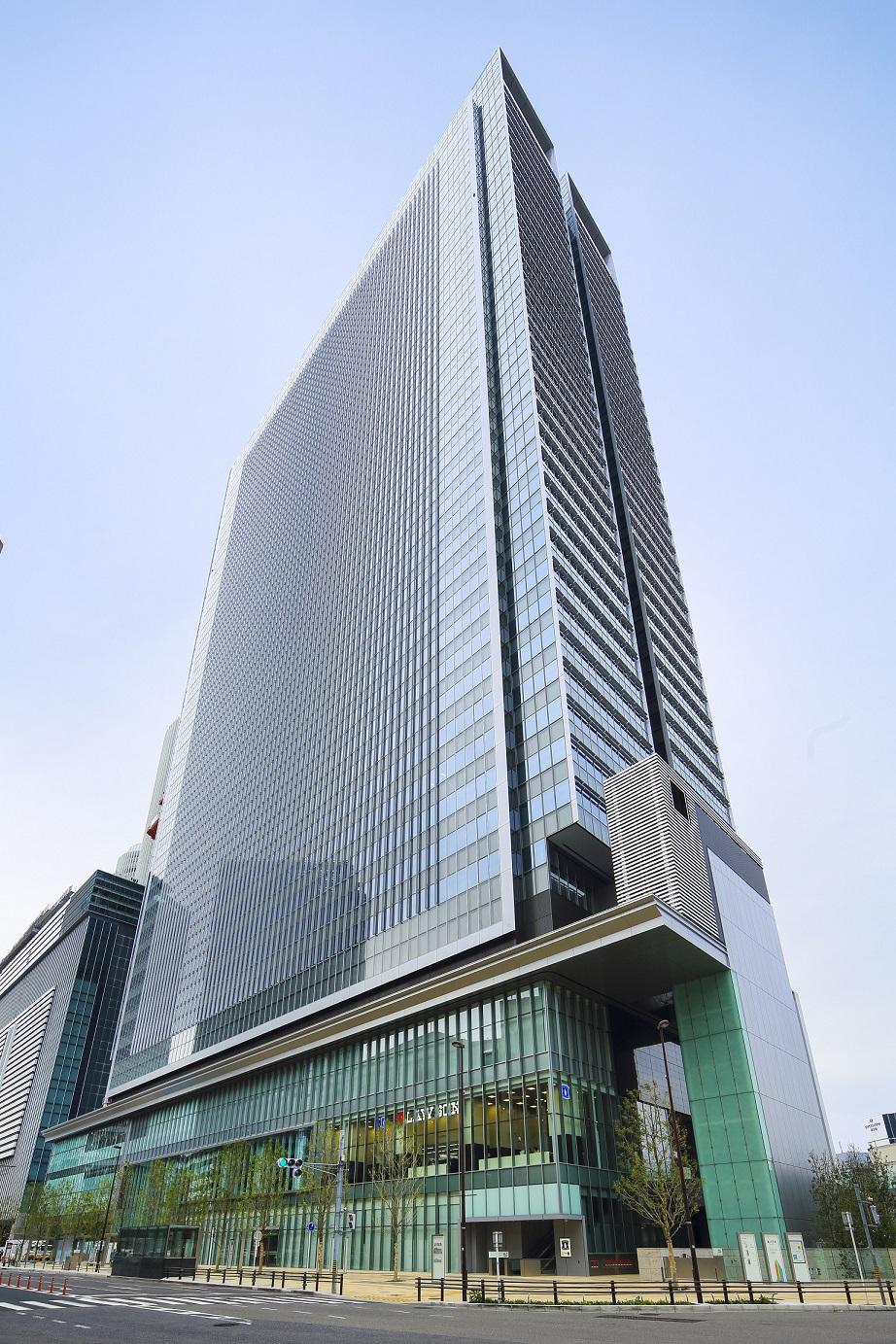 レンタルオフィス「Spaces JPタワー名古屋」の外観