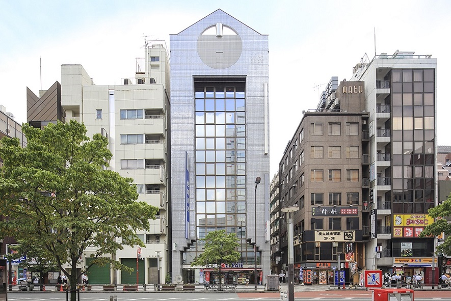 レンタルオフィス「オープンオフィス大門駅前」の外観