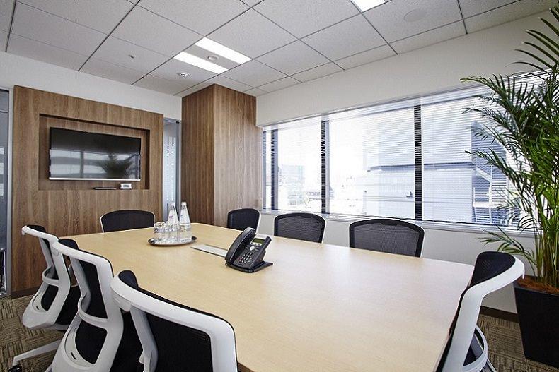 レンタルオフィス「芝大門」の会議室