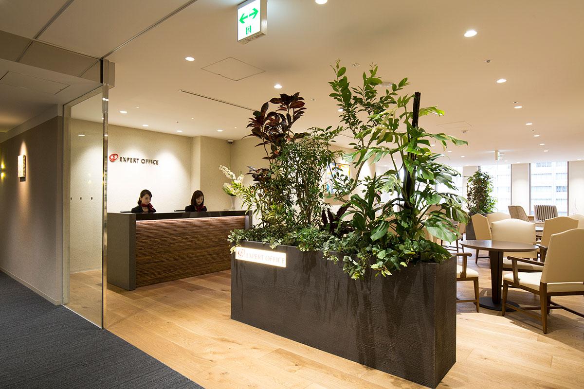 EXPERT OFFICE 新橋-エントランス