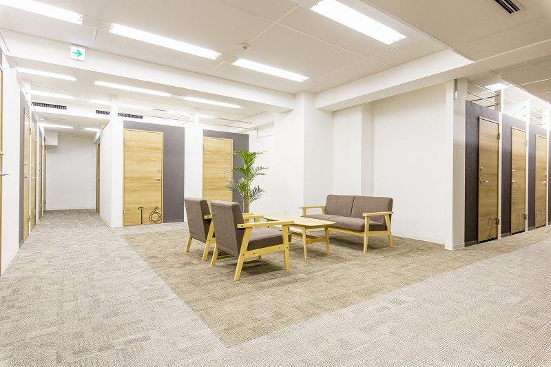 ビズサークル 神田オフィス-共有スペース