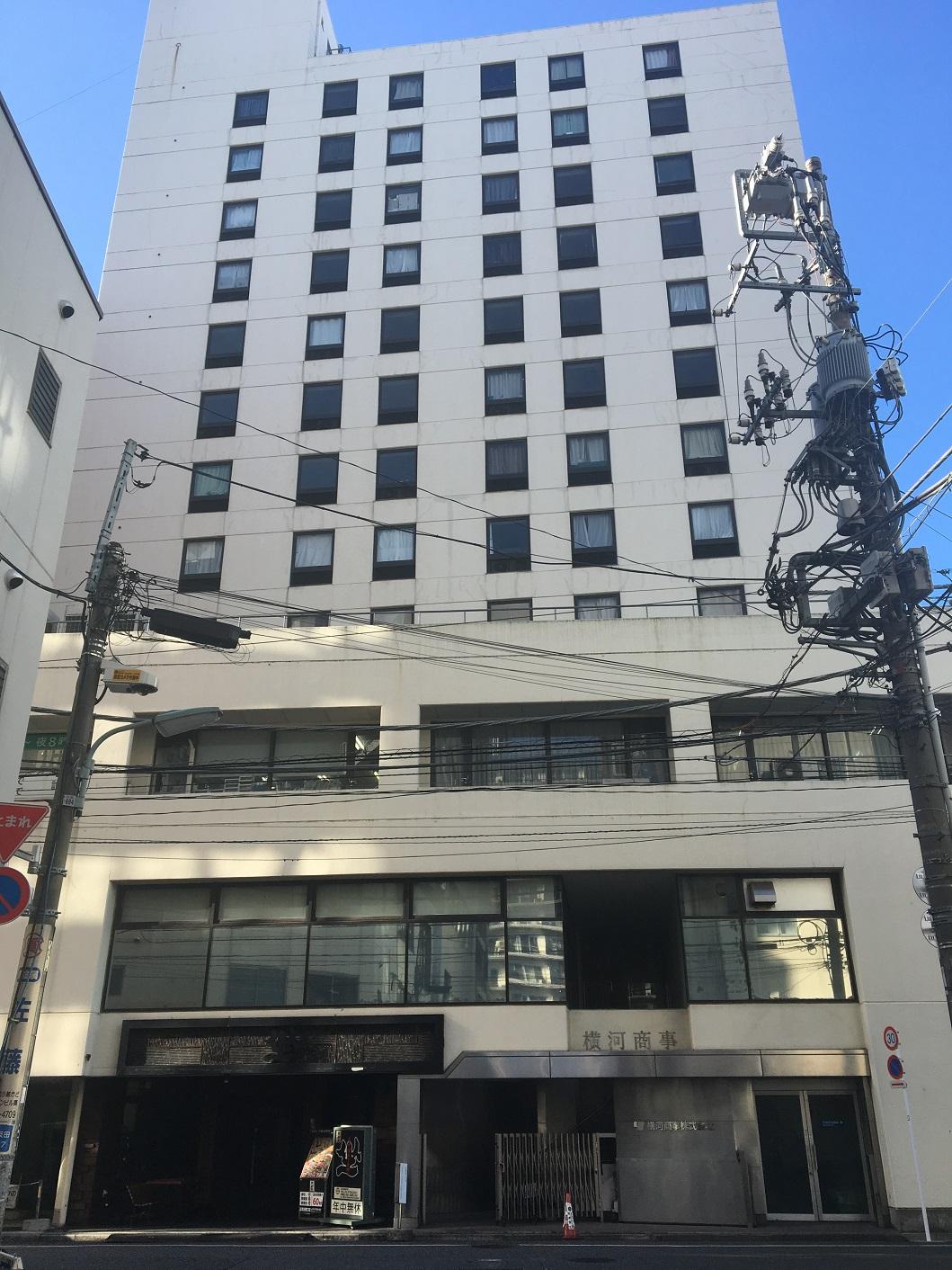 オープンオフィス五反田駅西口-外観①