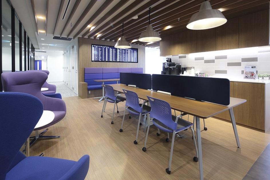レンタルオフィス「Regus Express羽田空港第1ターミナル」のシェアスペース