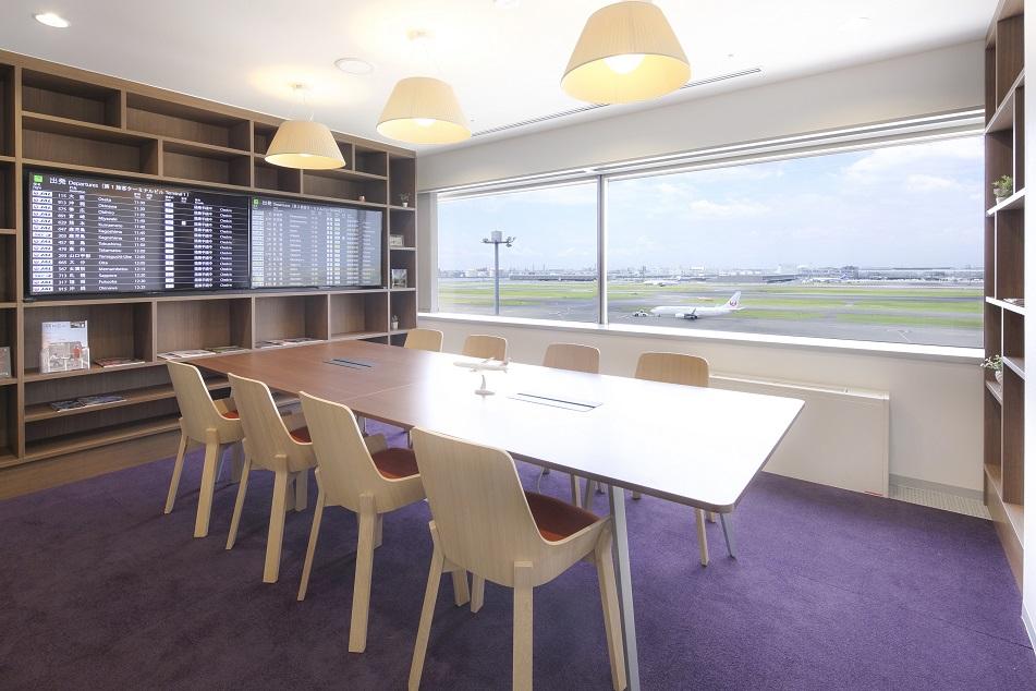 レンタルオフィス「Regus Express羽田空港第1ターミナル」の会議室