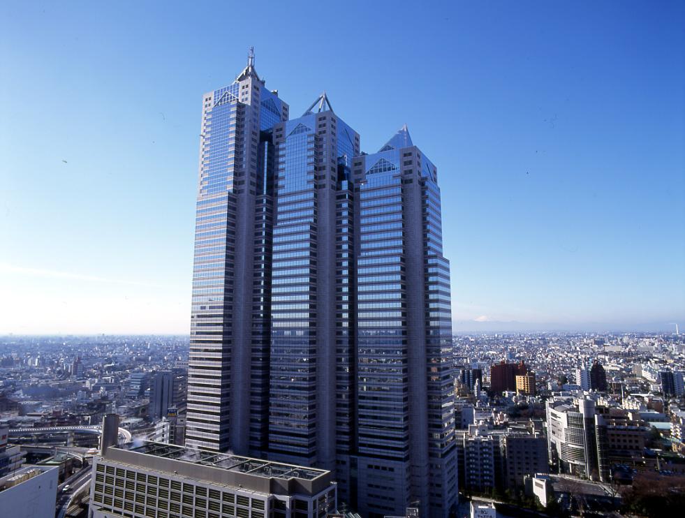 コワーキングスペース「新宿パークタワー」の外観