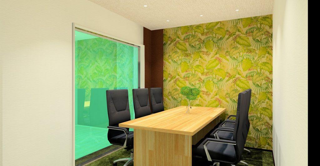 レンタルオフィス「ビズサークル埼玉・川口オフィス」の会議室(個室)