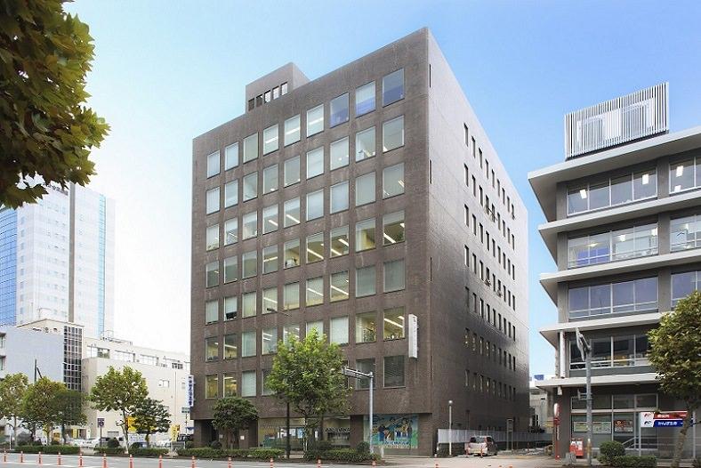 レンタルオフィス「オープンオフィス大分」が入居するビル