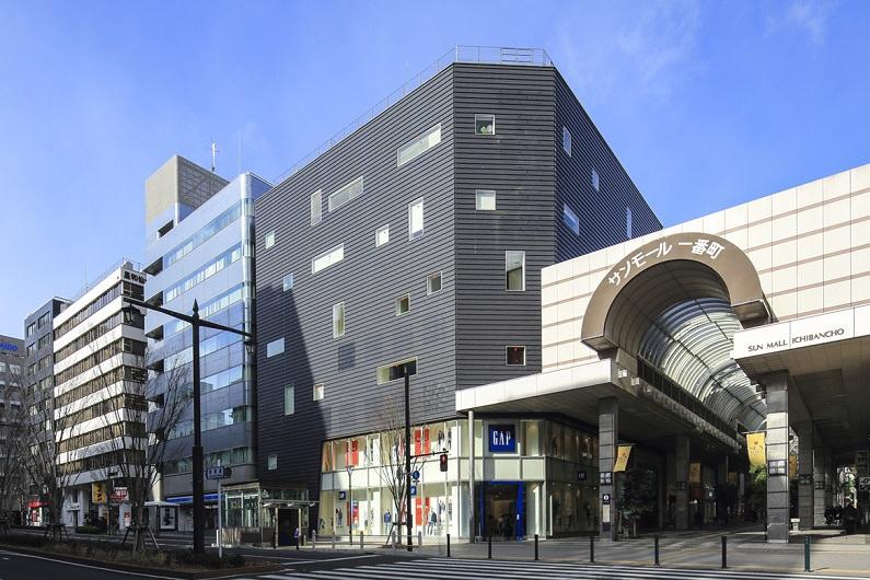 レンタルオフィス「リージャスクラックス仙台ビジネスセンター」の外観
