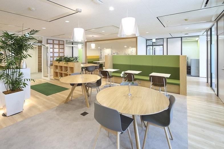 レンタルオフィス「リージャス広島稲荷大橋」のシェアスペース