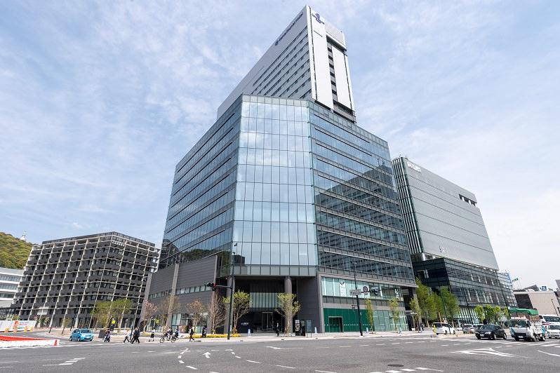 レンタルオフィス「リージャス広島駅前」の外観