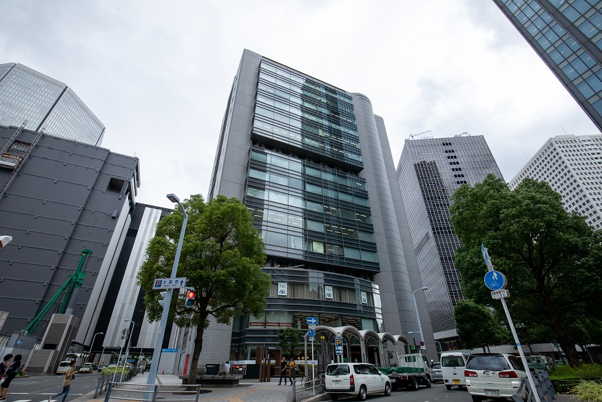 レンタルオフィス「リージャス梅田スクエアビジネスセンター」の外観