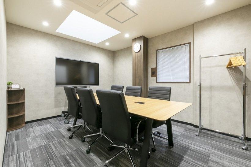 レンタルオフィス「BIZcircle仙台クリスロード」の会議室
