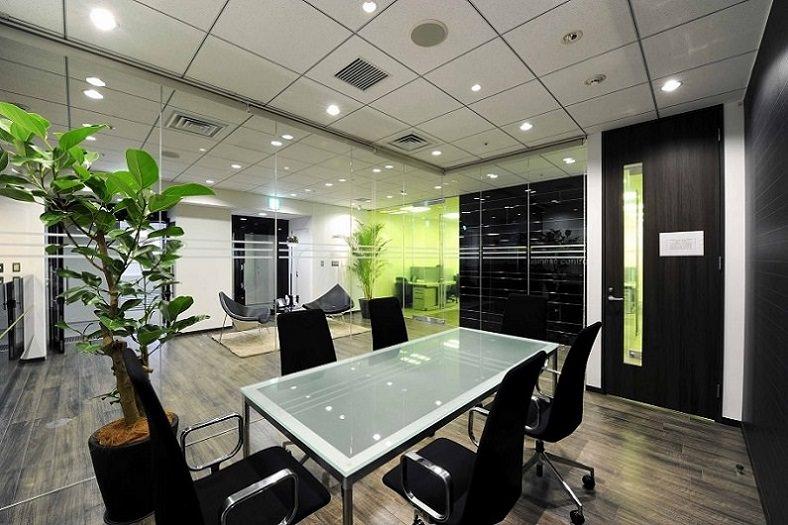 レンタルオフィス「リージャス仙台マークワン」の会議室