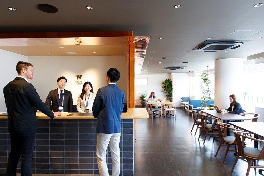 コワーキングスペース「ServiceOffice W 京都駅前」