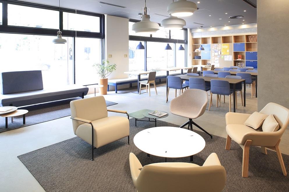 コワーキングスペース「Spaces大手町ビル」のオフィススペース