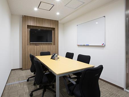 レンタルオフィス『リージャス 高松ビジネスセンター』の会議室